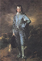 The Blue Boy c1770 - Thomas Gainsborough
