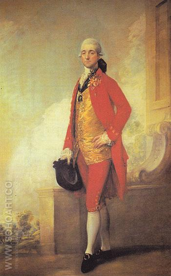 Captain William Wade 1771 - Thomas Gainsborough reproduction oil painting