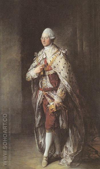 Henry Frederick Duke of Cumberland 1777 - Thomas Gainsborough reproduction oil painting