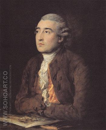 Philip James de Loutherbourg 1778 - Thomas Gainsborough reproduction oil painting
