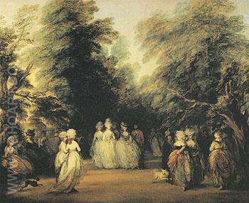 The Mall 1783 - Thomas Gainsborough reproduction oil painting