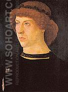 Portrait of Joerg Fugger 1474 - Giovanni Bellini reproduction oil painting