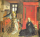The Annunciation - Van Der Weyden reproduction oil painting