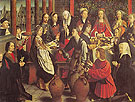The Marriage at Cana - Gerard David reproduction oil painting