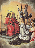 Coranation of the Virgin 1504 - Michael Sittow