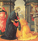 The Visitation - Domenico Ghirlandaio