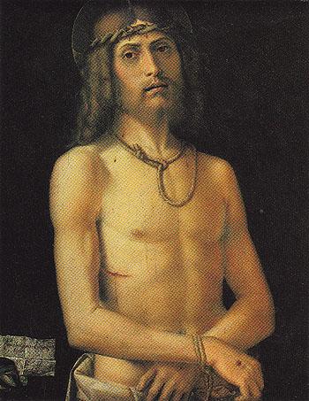 Ecce Homo - Bartolomeo Montagna reproduction oil painting