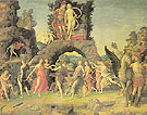 Mars and Venus - Andrea Mantegna reproduction oil painting