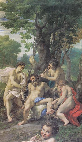 Allegory of the Vices - Antonio Allegri da Correggio reproduction oil painting
