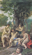 Allegory of the Vices - Antonio Allegri da Correggio reproduction oil painting