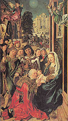 The Adoration of the Magi - Ulrich Apt The Elder