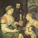 An Allegory Perhaps of Marriage with Vestsa and Hymen as Protectors and Advisers of the Union of Venus and Mars - Titian