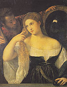 A Woman at her Toilet - Titian