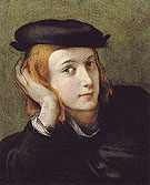Portrait of a Young Man - Antonio Allegri da Correggio