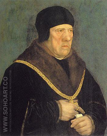 Sir Henry Wyatt - Hans Holbein reproduction oil painting