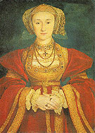 Anne of Cleves - Hans Holbein reproduction oil painting