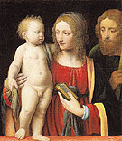 The Holy Family - Luini