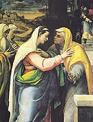 The Visitation - Sebastiano Del Piombo reproduction oil painting
