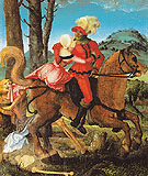 The Knight the Young Girl and Death - Hans Baldung Grien