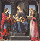 The Virgin and Child with St Julian and St Nicholas of Myra - Leonardo da Vinci