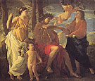 The Inspiration of the Poet - Nicolas Poussin