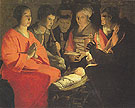 The Adoration of the Shepherds - George de la Tour