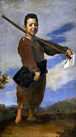 The Beggar known as the Club Foot 1642 - Jusepe de Ribera reproduction oil painting