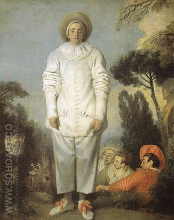 Marne 1721 - Jean Antoine Watteau reproduction oil painting
