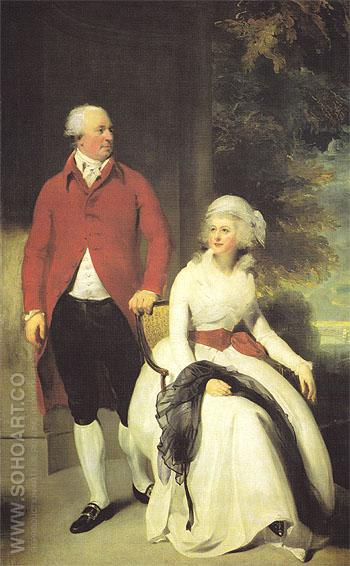 Mr and Mrs John Julius Angerstein 1792 - Sir Thomas Lawrence reproduction oil painting