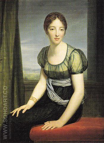 La Comtesse Regnault de Saint Jean dAngely - Francois Gerard reproduction oil painting