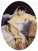 Madame Riviere - Jean-Auguste-Dominique-Ingres