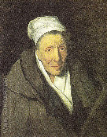 The Woman with Gambling Mania - Theodore Gericault reproduction oil painting