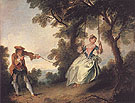The Swing c1735 - Nicolas Lancret