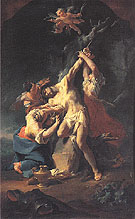 St Sebastian and the Women c1746 - Paul Troger