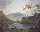 View of Snowdon from Llyn Nantlle c1766 - Richard Wilson reproduction oil painting