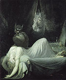 The Nightmare c1790 - Henry Fuseli