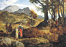 Ideal Landscape near Rocca Canterana 1818 - Carl Philipp Fohr