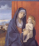 Madonna and Child 1480 - Giovanni Bellini reproduction oil painting