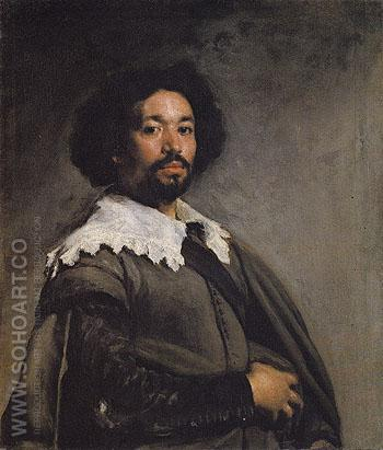 Juan de Pareja 1648 - Diego Velasquez reproduction oil painting