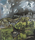 View of Toledo c1597 - El Greco