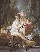 The Toilet of Venus 1751 - Francois Boucher reproduction oil painting