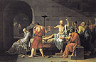 The Death of Socrates 1787 - Jacques Louis David
