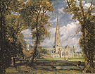 Salisbury Cathedral from the Bishops Grounds c1825 - John Constable