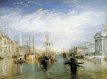 The Grand Canal Venice 1835 - Joseph Mallord William Turner reproduction oil painting