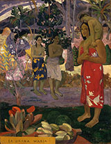 IA Orona Maria 1891 - Paul Gauguin reproduction oil painting