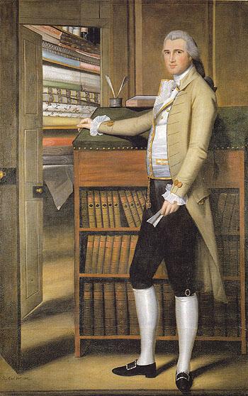 Elijah Boardman 1789 - Ralph Earl reproduction oil painting