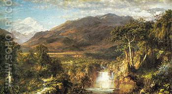 The Heart of the Andes 1859 - Frederic E Church reproduction oil painting