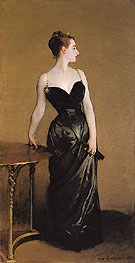 Madame X 1884 - John Singer Sargent reproduction oil painting