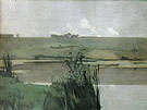 Arques La Bataille 1885 - John Henry Twachtman