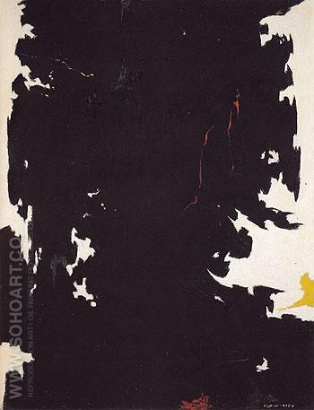 W No I c1947 - Clyfford Still reproduction oil painting
